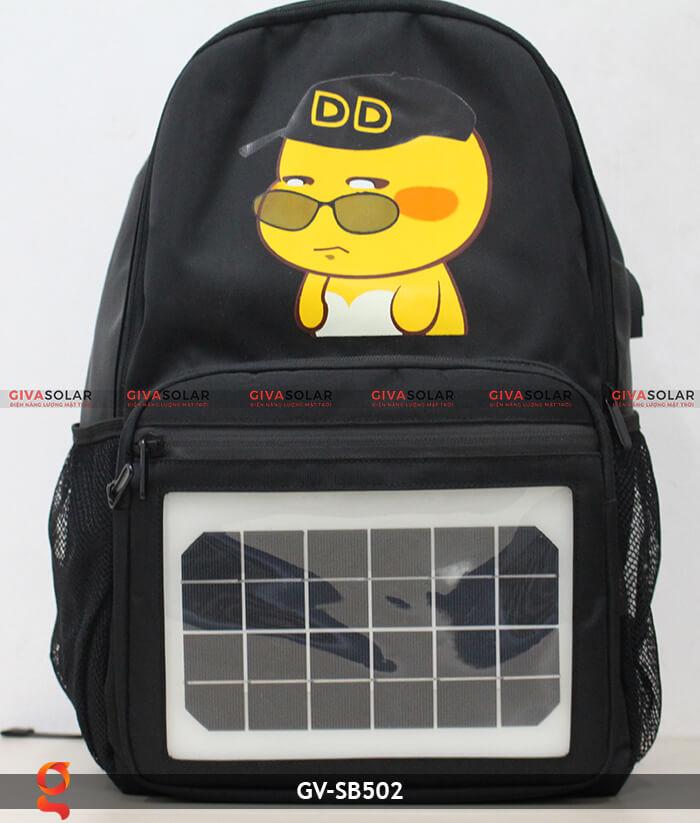 Ba lô dùng năng lượng mặt trời SB502 1