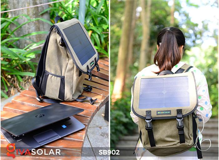 Balo sạc năng lượng mặt trời SB902 11