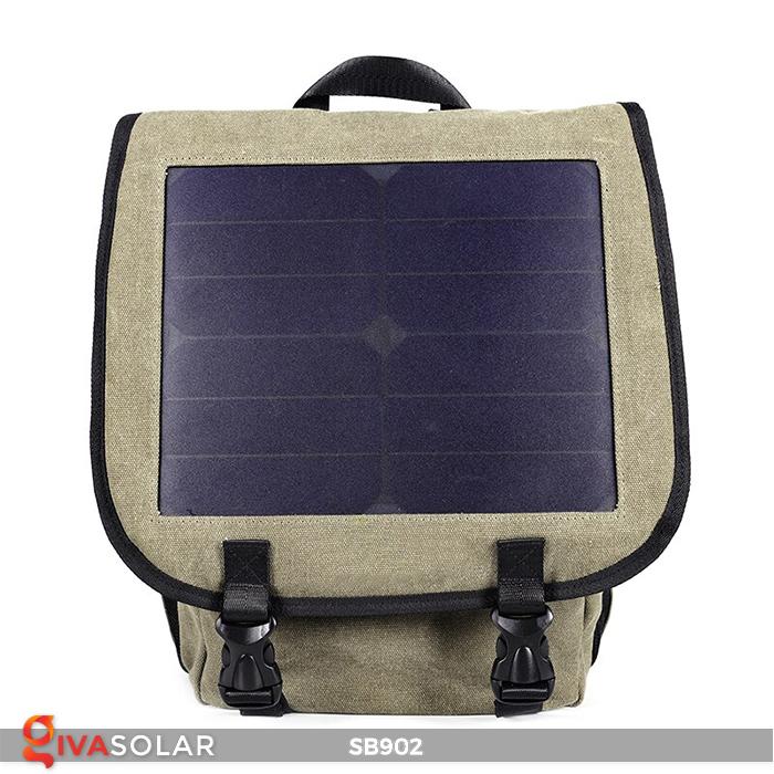 Balo sạc năng lượng mặt trời SB902 2