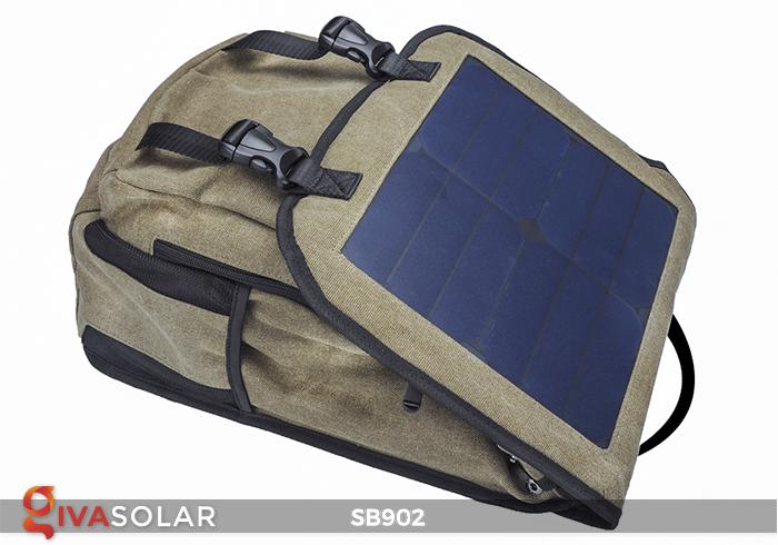 Balo sạc năng lượng mặt trời SB902 4
