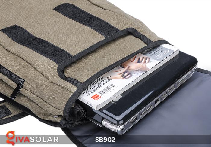 Balo sạc năng lượng mặt trời SB902 5