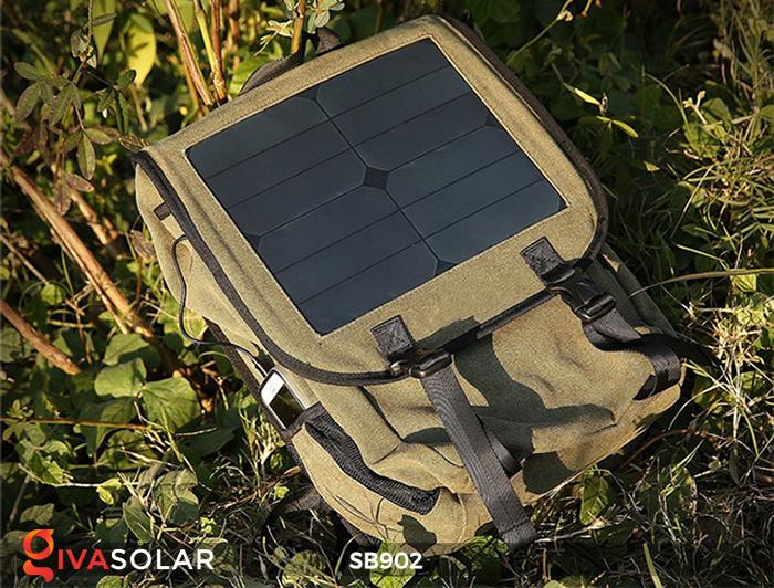 Balo sạc năng lượng mặt trời SB902 9