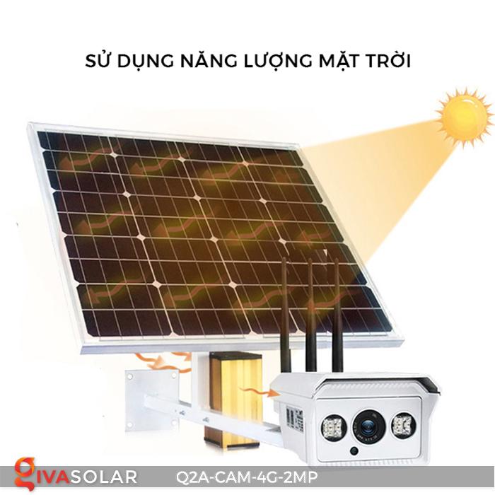 Camera chạy năng lượng mặt trời Q2A 1