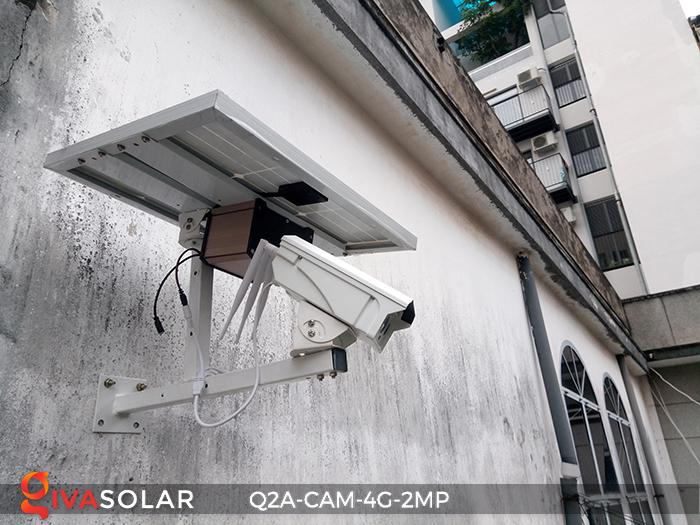 Camera chạy năng lượng mặt trời Q2A 10