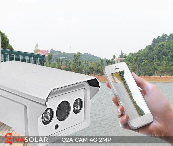 Camera chạy năng lượng mặt trời Q2A 11