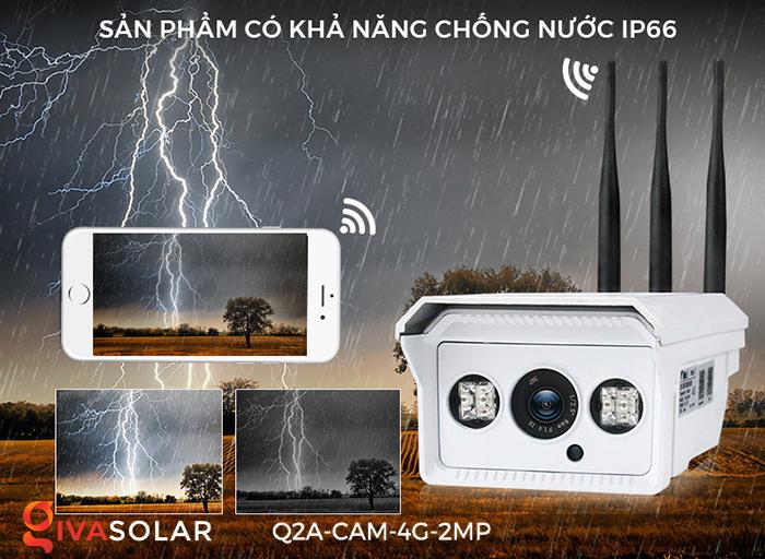 Camera chạy năng lượng mặt trời Q2A 12