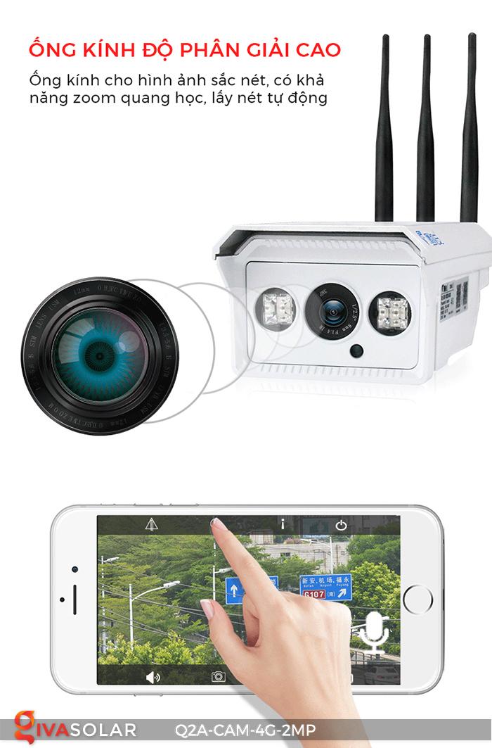 Camera chạy năng lượng mặt trời Q2A 2