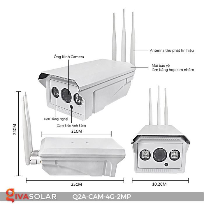 Camera chạy năng lượng mặt trời Q2A 3