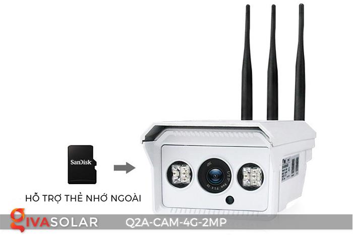 Camera chạy năng lượng mặt trời Q2A 4