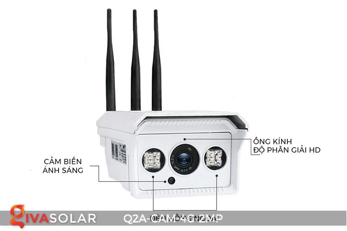 Camera chạy năng lượng mặt trời Q2A 5