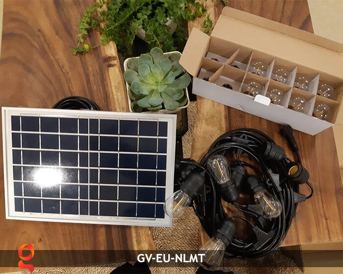 Dây đèn led năng lượng mặt trời EU 11
