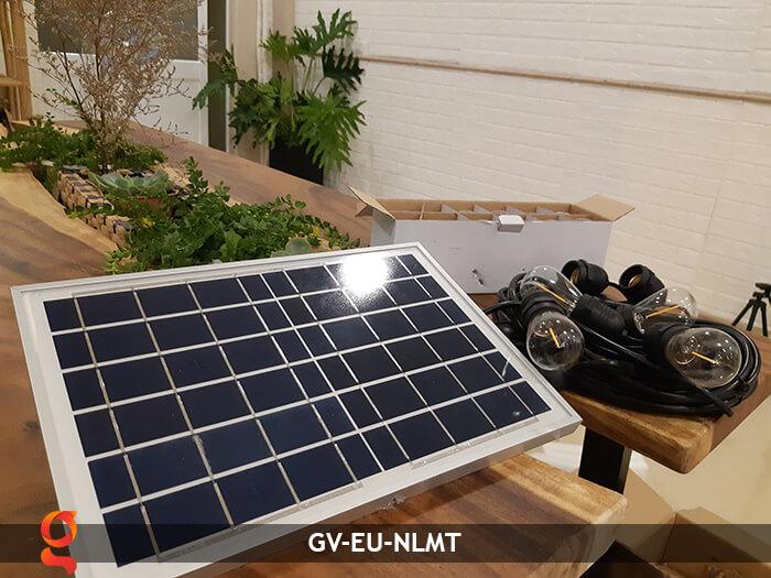 Dây đèn led năng lượng mặt trời EU 12