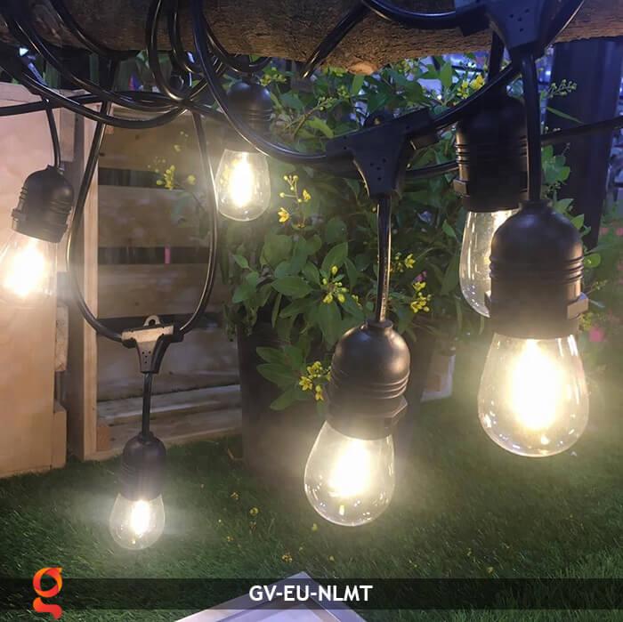Dây đèn led năng lượng mặt trời EU 13