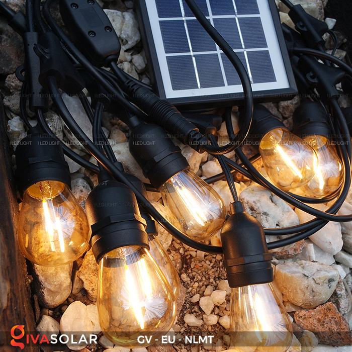 Dây đèn led năng lượng mặt trời EU 15