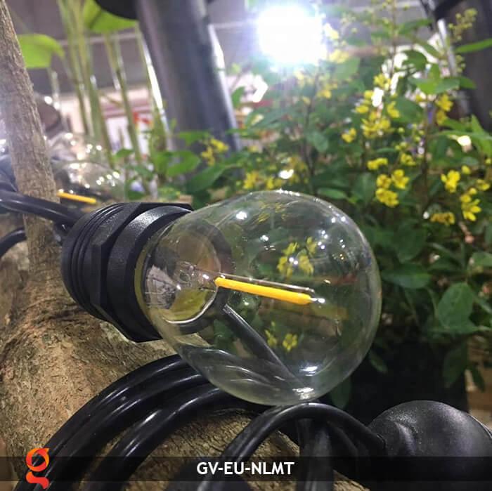 Dây đèn led năng lượng mặt trời EU 16
