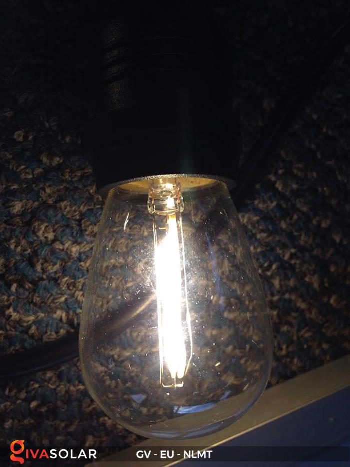 Dây đèn led năng lượng mặt trời EU 18
