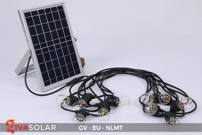 Dây đèn led năng lượng mặt trời EU 19