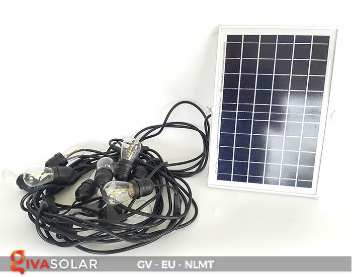 Dây đèn led năng lượng mặt trời EU 2