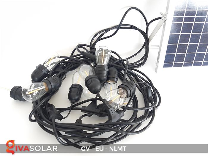 Dây đèn led năng lượng mặt trời EU 3