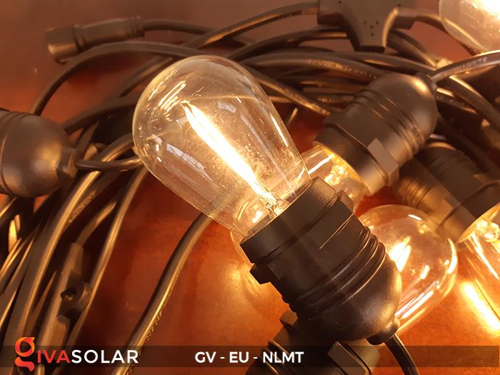 Dây đèn led năng lượng mặt trời EU 7