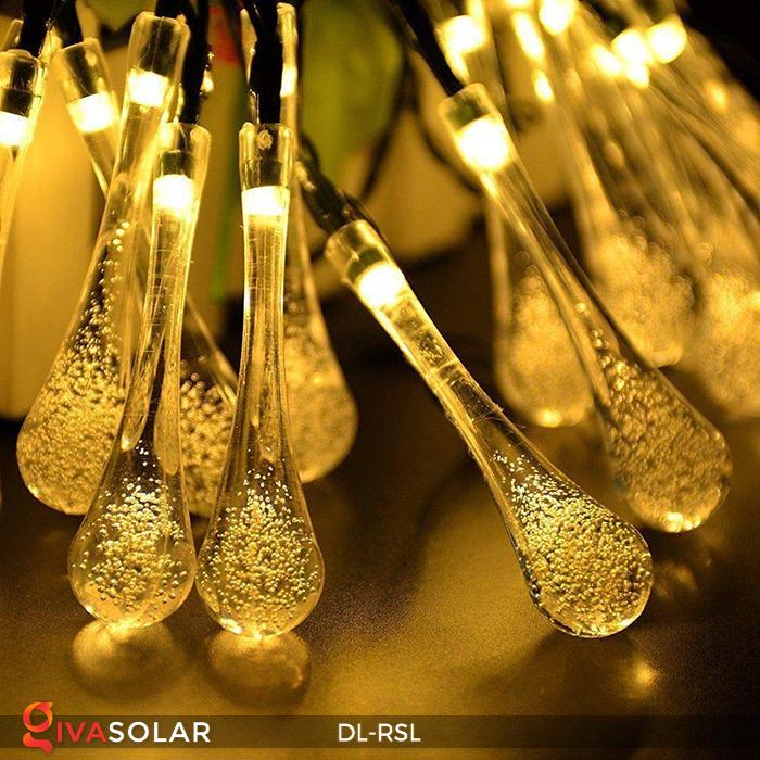 Dây đèn trang trí Solar hình giọt mưa DL-RSL 11