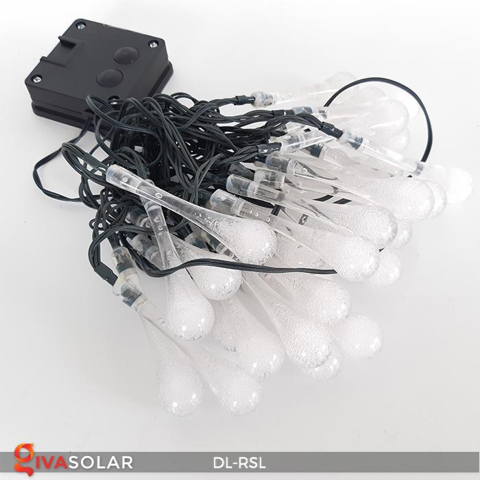 Dây đèn trang trí Solar hình giọt mưa DL-RSL 18