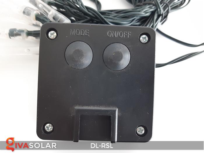 Dây đèn trang trí Solar hình giọt mưa DL-RSL 20