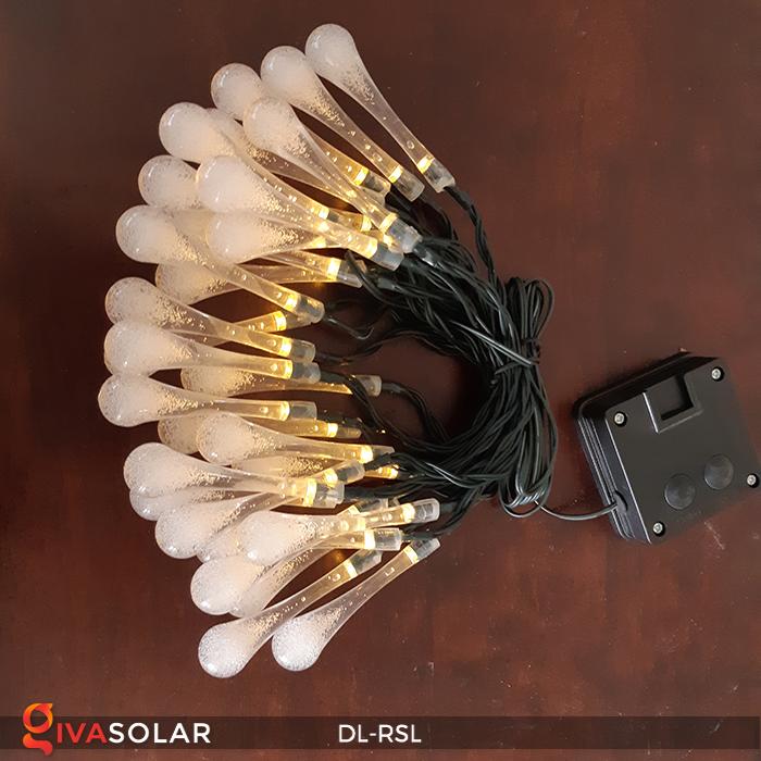 Dây đèn trang trí Solar hình giọt mưa DL-RSL 21