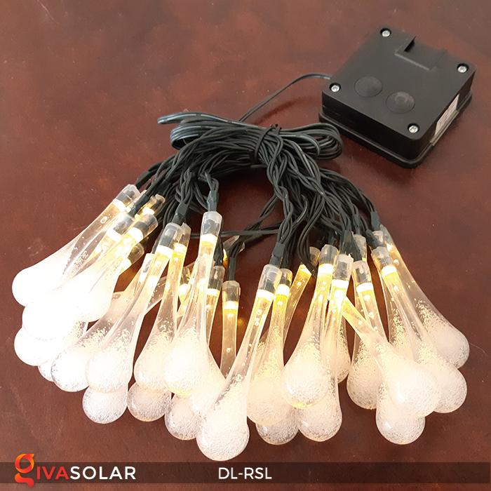 Dây đèn trang trí Solar hình giọt mưa DL-RSL 22
