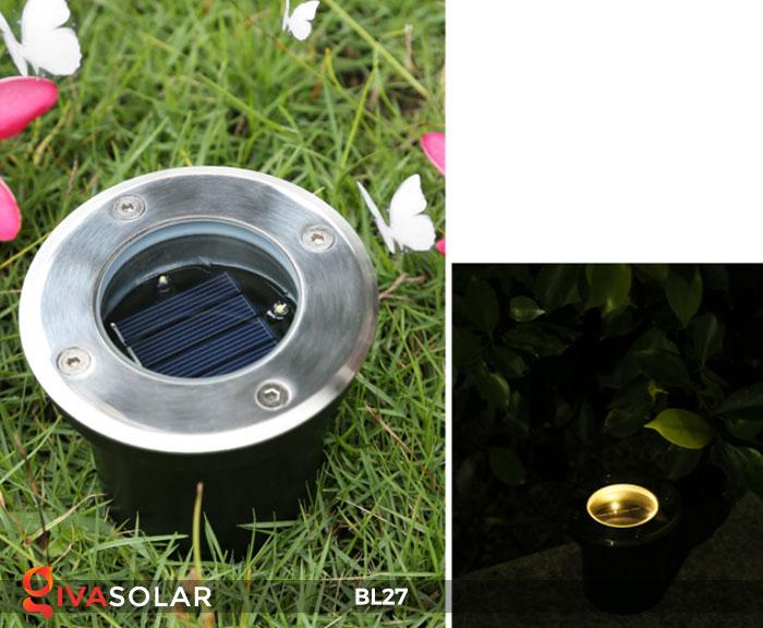 đèn led âm sàn năng lượng mặt trời BL27 10