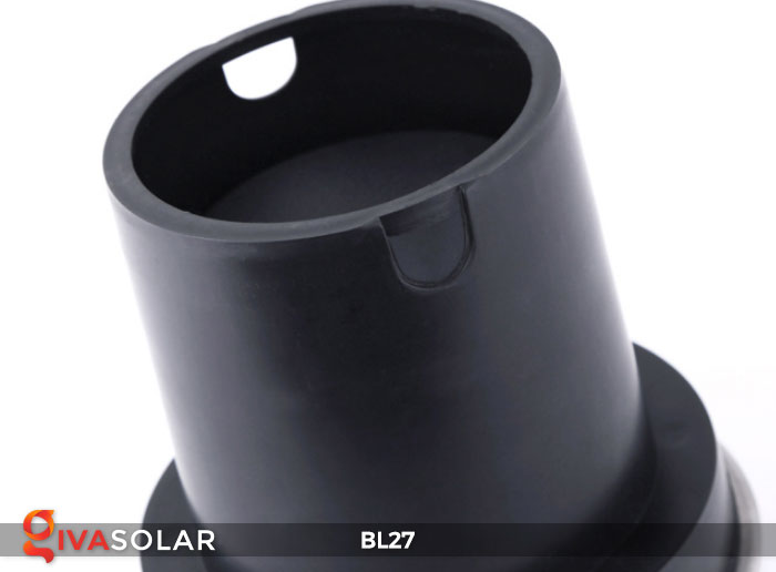 đèn led âm sàn năng lượng mặt trời BL27 12