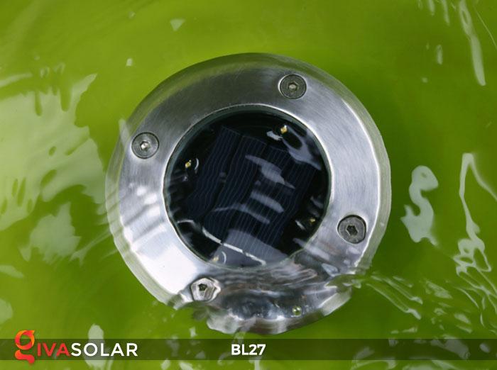 đèn led âm sàn năng lượng mặt trời BL27 3