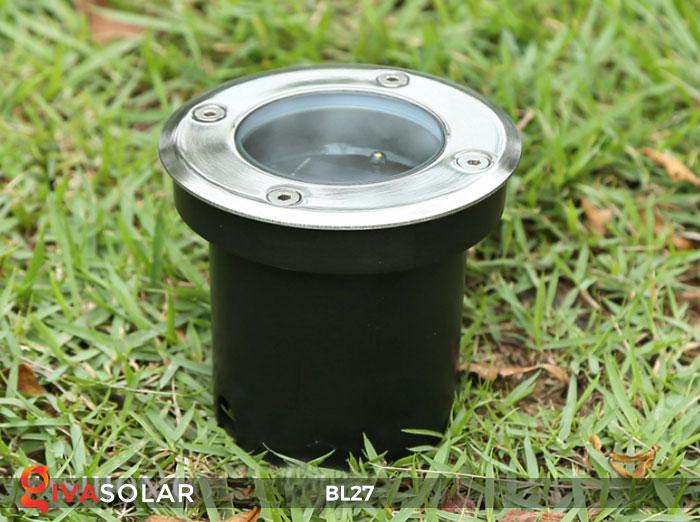 đèn led âm sàn năng lượng mặt trời BL27 5