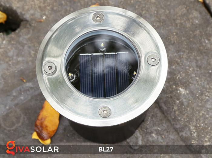 đèn led âm sàn năng lượng mặt trời BL27 6