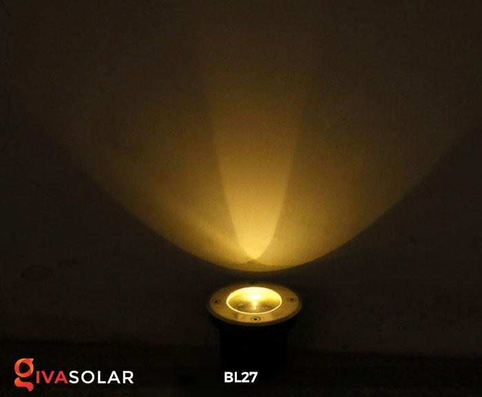 đèn led âm sàn năng lượng mặt trời BL27 7