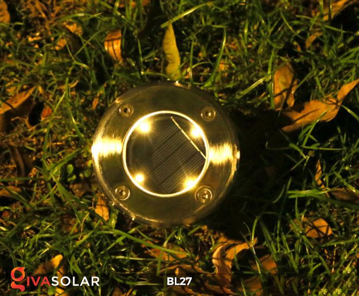 đèn led âm sàn năng lượng mặt trời BL27 8