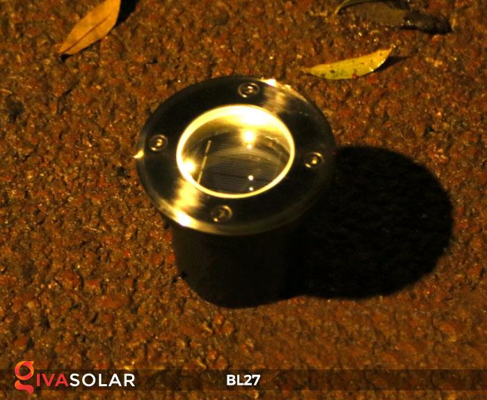 đèn led âm sàn năng lượng mặt trời BL27 9