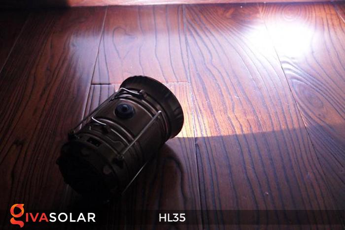 Đèn bão cầm tay năng lượng mặt trời HL35 13