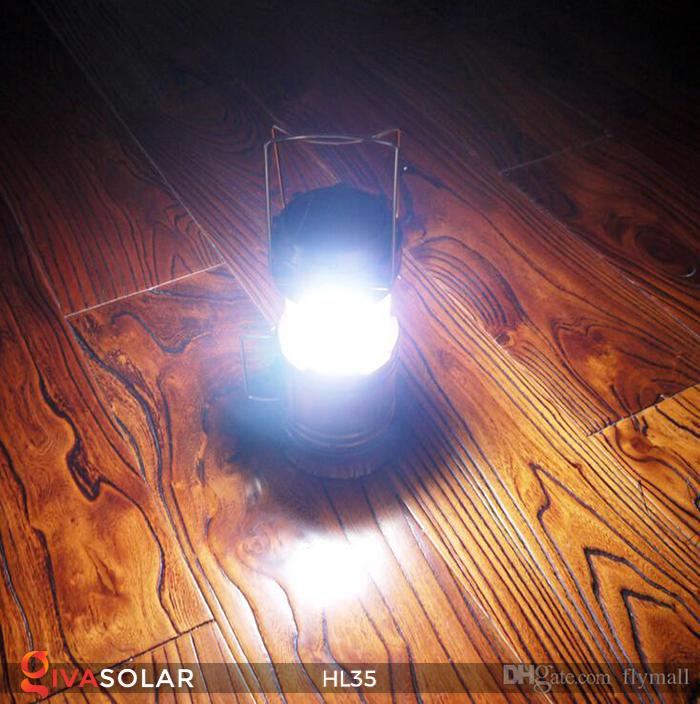 Đèn bão cầm tay năng lượng mặt trời HL35 5
