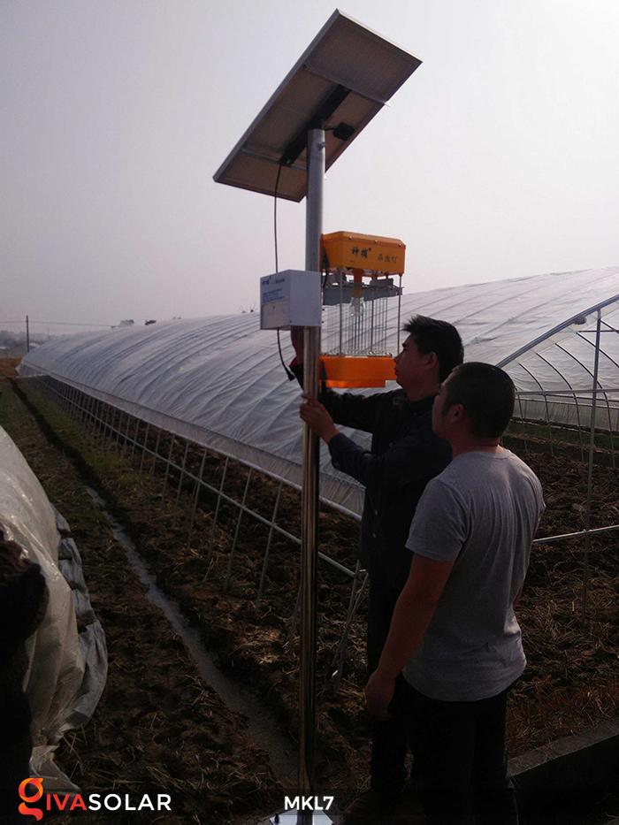 Đèn bắt côn trùng chạy năng lượng mặt trời MKL7 3
