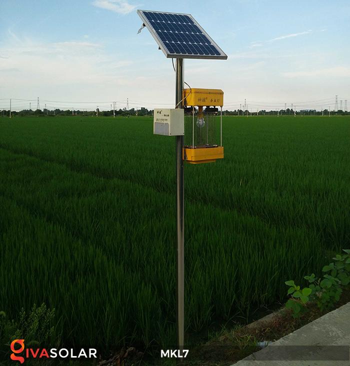 Đèn bắt côn trùng chạy năng lượng mặt trời MKL7 7