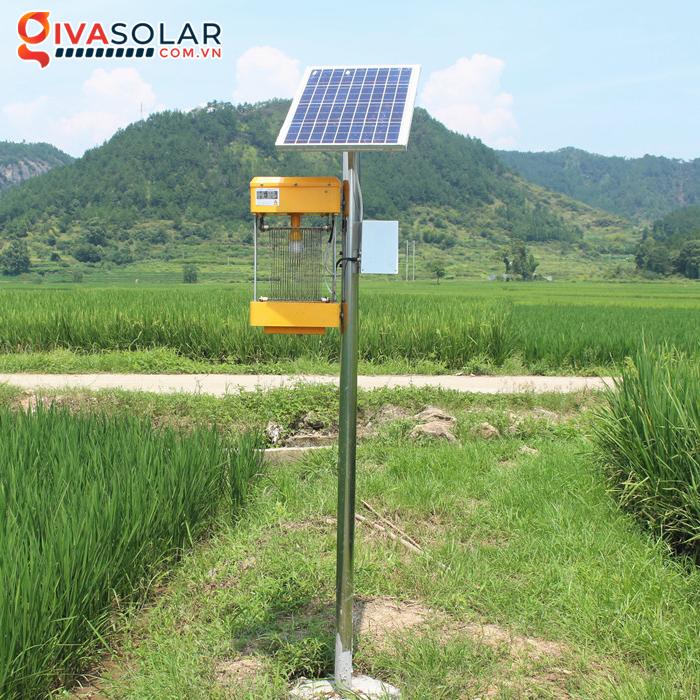 Đèn bắt côn trùng chạy năng lượng mặt trời MKL7