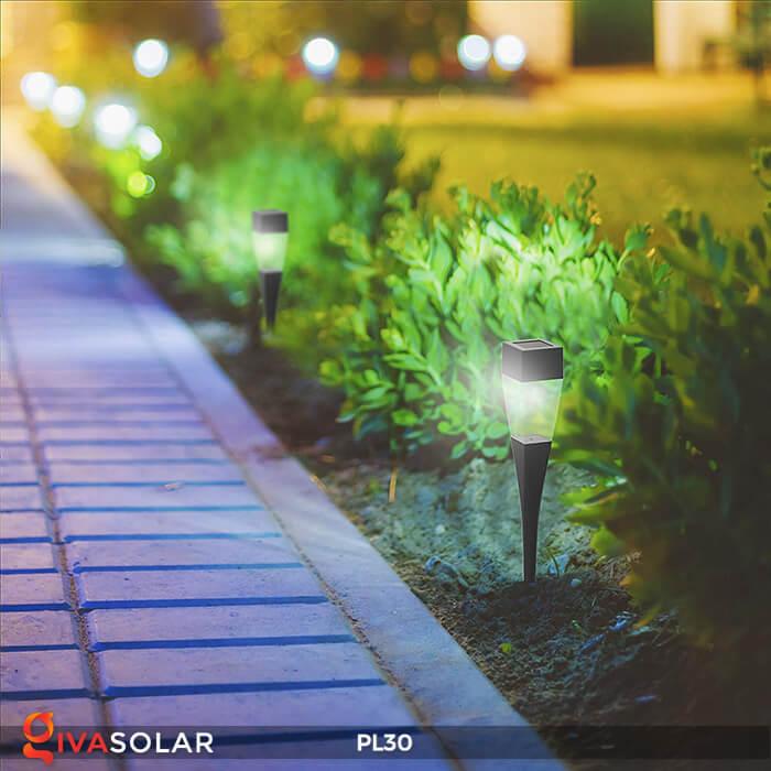 Đèn cắm cỏ năng lượng mặt trời PL30 1