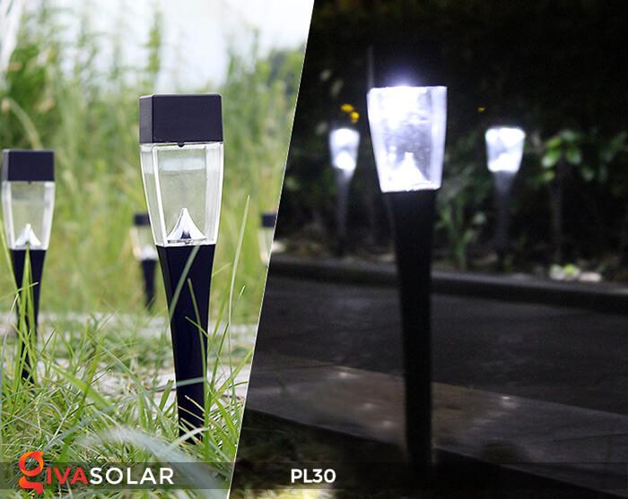 Đèn cắm cỏ năng lượng mặt trời PL30 4