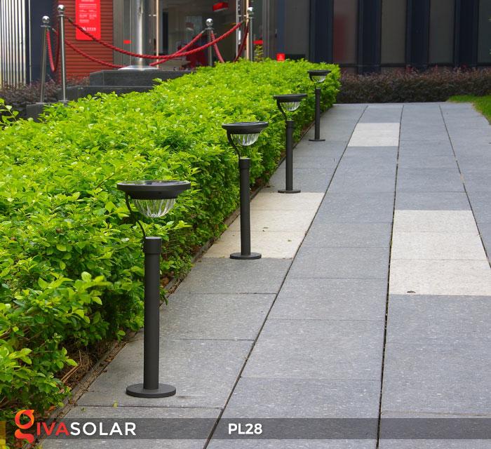 Đèn sân vườn năng lượng mặt trời PL28 10
