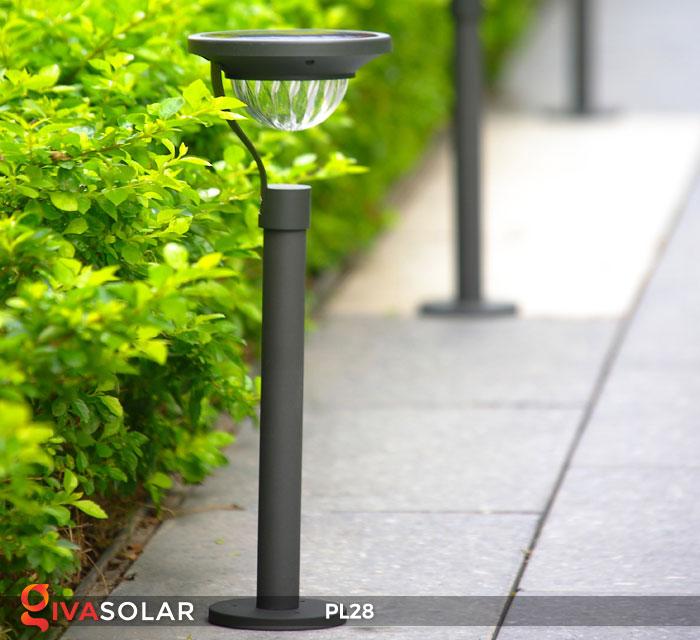Đèn sân vườn năng lượng mặt trời PL28 11