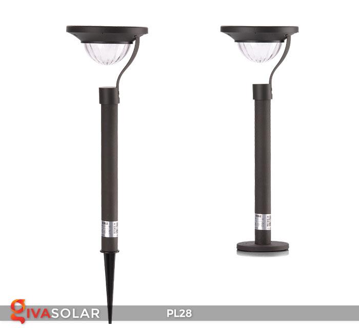 Đèn sân vườn năng lượng mặt trời PL28 13