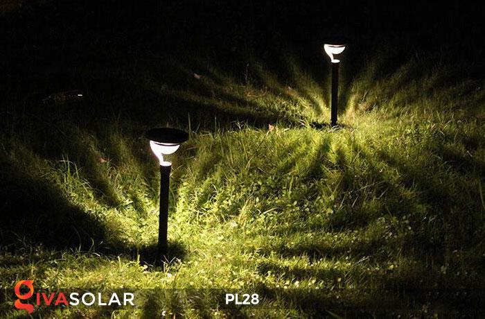 Đèn sân vườn năng lượng mặt trời PL28 18