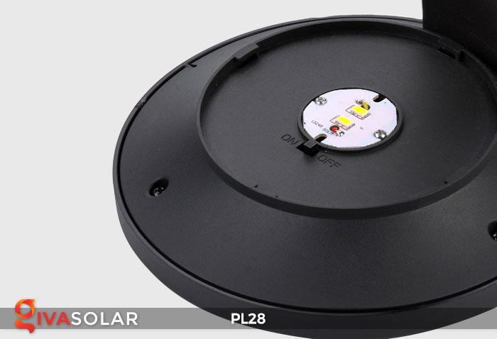 Đèn sân vườn năng lượng mặt trời PL28 20