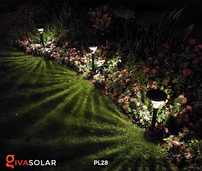 Đèn sân vườn năng lượng mặt trời PL28 4